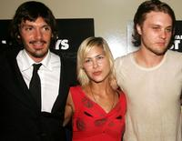 Lukas Haas, Nicole Vicius and Michael Pitt at the premiere of