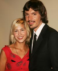 Nicole Vicius and Lukas Haas at the premiere of