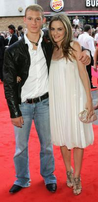 Alex Pettyfer and Alicia Silverstone at the UK premiere of