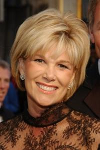 Joan Lunden at the ABC Television Network's 50th Anniversary Special.
