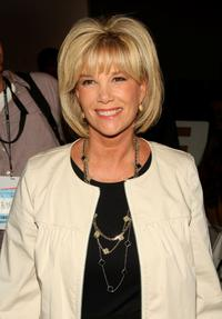 Joan Lunden at the Badgley Mischka Spring 2009 fashion show during the Mercedes-Benz Fashion Week.