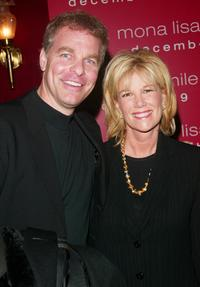 Joan Lunden and her husband at the world premiere of