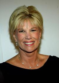 Joan Lunden at the CBS and UPN Winter Press Tour party.