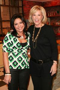 Rachael Ray and Joan Lunden at the