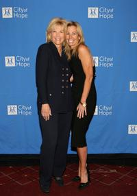 Joan Lunden and Designer Pamela Dennis at the City of Hope Jeanne Kaye Spirit of Life award luncheon.