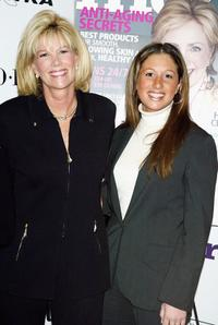 Joan Lunden and her daughter at the 2nd Annual More Alpha Woman Award ceremony.