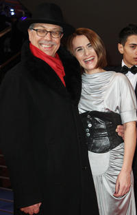 Director Dieter Kosslick and Clara Voda at the Berlin premiere of