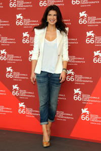 Monica Barladeanu at the photocall of