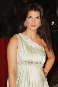 Monica Barladeanu at the premiere of