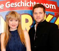 Lisa-Maria Potthoff and Peter Ketnath at the German premiere of