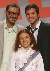 Paulo Caldas, Nash Laila and Peter Ketnath at the press conference of
