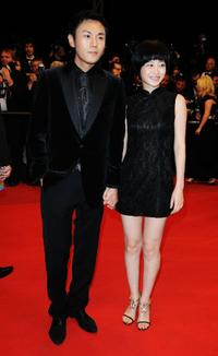 Qin Hao and Tan Zhuo at the premiere of