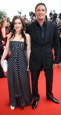 Fanny Valette and Dany Brillant at the premiere of
