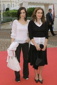 Fanny Valette and director Karin Albou at the premiere of