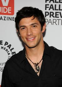 Michael Rady at the PaleyFest and TV Guide Magazine's The CW Fall TV Preview party.
