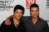 Michael Rady and Colin Egglesfield at the PaleyFest & TV Guide Magazine's The CW Fall TV Preview party.