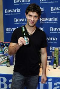 Michael Rady at the Bavaria Holland's Premium Beer display during the 67th Annual Golden Globe Awards.