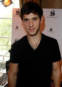 Michael Rady at the Simmons Jewelry Co. display during the 67th Annual Golden Globe Awards.