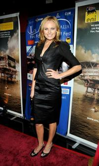 Malin Akerman at the 4th Annual Los Angeles Italia Film, Fashion And Art Festival.