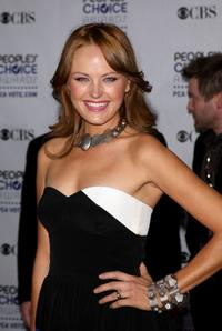 Malin Akerman at the 35th Annual People's Choice Awards.