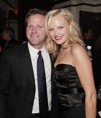 Bradley Thomas and Malin Akerman at the premiere of