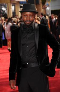 Nelsan Ellis at the 62nd Annual Primetime Emmy Awards.