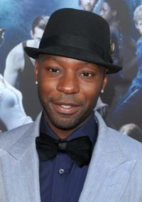 Nelsan Ellis at the premiere of