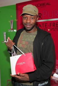 Nelsan Ellis at the 66th Annual Golden Globes Awards.
