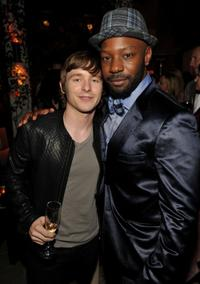Marshall Allman and Nelsan Ellis at the 2010 Entertainment Weekly and Women In Film Pre-Emmy party.
