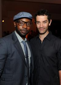 Nelsan Ellis and James Frain at the