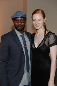 Nelsan Ellis and Deborah Ann Woll at the