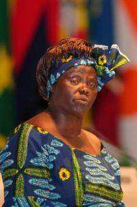 Wangari Maathai at the Tokyo International Conference on African Development IV.