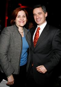 Christine Quinn and Jim McGreevey at the Gay Men's Health Crisis Heroes Honors 25th Anniversary Dinner.