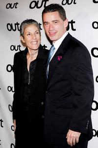 Judy Wieder and Jim McGreevey at the Out Magazine's 11th Annual
