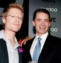 Anthony Rapp and Jim McGreevey at the Out Magazine's 11th Annual
