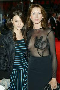 Natalie Lunghi and Cherie Lunghi at the gala premiere of