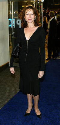 Cherie Lunghi at the UK premiere of