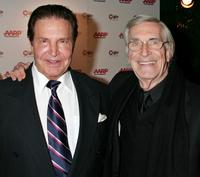 Peter Lupus and Martin Landau at the AARP The Magazine's seventh annual Movies for Grownups Awards.