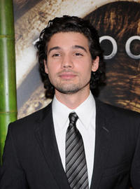 Actor Steven Strait at the Madrid premiere of