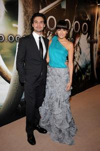 Steven Strait and Camilla Belle at the premiere of