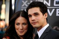 Lynn Collins and Steven Strait at the Screening of