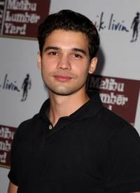 Steven Strait at the Malibu Lumber Yard grand opening.