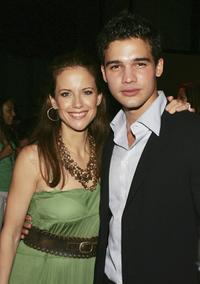 Kelly Preston and Steven Strait at the premiere of