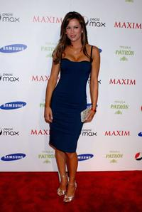 Danneel Harris at the Maxim Magazine Super Bowl XLIII party.