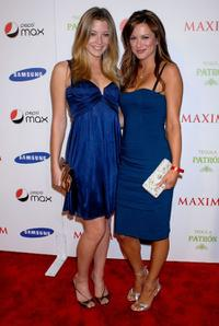 Sarah Roemer and Danneel Harris at the Maxim Magazine Super Bowl XLIII party.