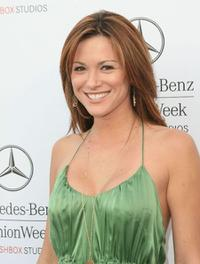 Danneel Harris at the Mercedes-Benz Fashion Week.