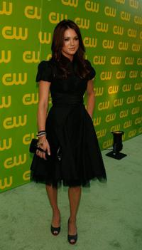 Danneel Harris at the CW Launch Party.