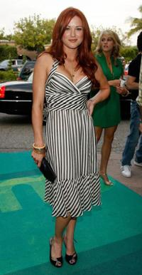 Danneel Harris at the CW Network Summer TCA party.