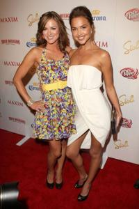 Danneel Harris and Arielle Kebbel at the Maxim's 10th Annual Hot 100 Celebration.