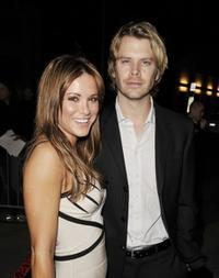 Danneel Harris and Eric Christian Olsen at the premiere of